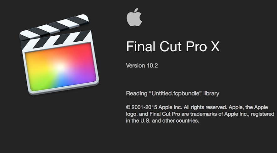 更新:苹果视频剪辑软件 Final Cut Pro X 10.2(多国语言-含中文)