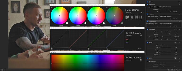 FCPX插件:专业调色大师插件 FCPX Colorist 1.2 + 使用教程(修复闪退)
