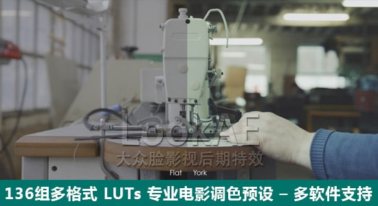 136组多格式 LUTs 专业电影调色预设 Lookae – DUOGESHI LUTs (136)