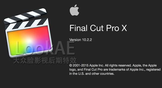 更新:苹果视频剪辑软件 Final Cut Pro X 10.2.2(多国语言-含中文)