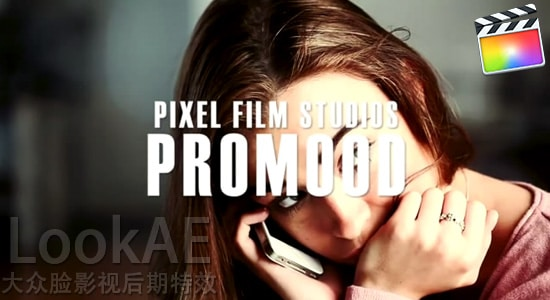 FCPX 调色插件:55种电影级调色插件 PFS - ProMood