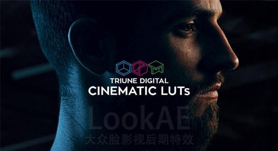 300组LUTs电影大片风格调色预设 Triune Digital: Cinematic LUTs