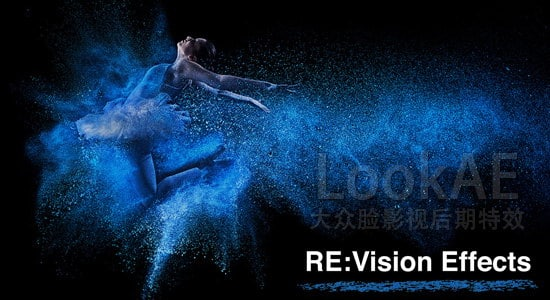 Mac版:AE/PR/FCPX特效插件:RE: Vision Effects Collection 大合集(2016.08)