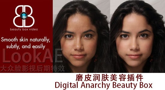 FCPX/FCP7插件:磨皮润肤美容插件 Digital Anarchy Beauty Box v3.0.9