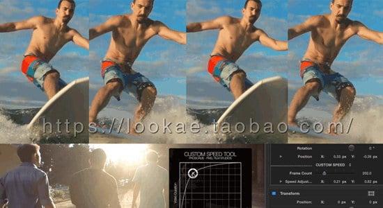 FCPX插件:视频快进快退重复鬼畜变速控制 PROSCRUB + 使用教程