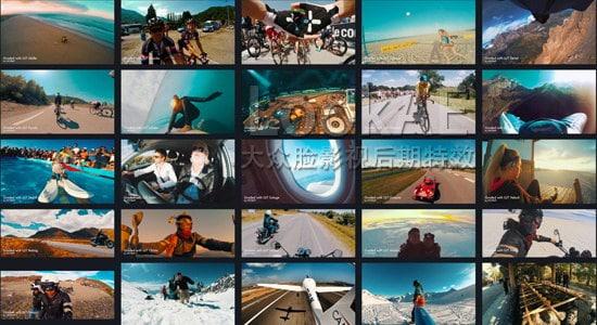 30组GoPro运动相机专用LUTs电影调色预设 30 GoPro LUTs Color Grading Pack