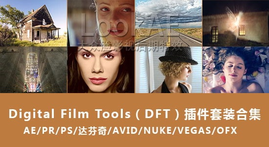 FCPX/Adobe视觉特效插件套装合集 Digital Film Tools Bundle 2016.11