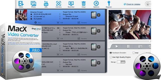 Mac苹果版:全能视频格式转换软件专业版 MacX Video Converter Pro 6.0.2