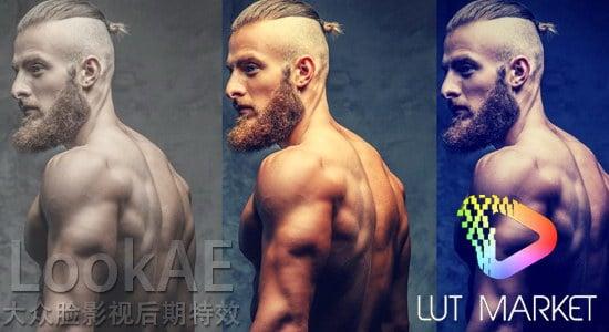 80组LUTs电影调色预设 Lut Market VIVID PRO LUTs Pack Win/Mac