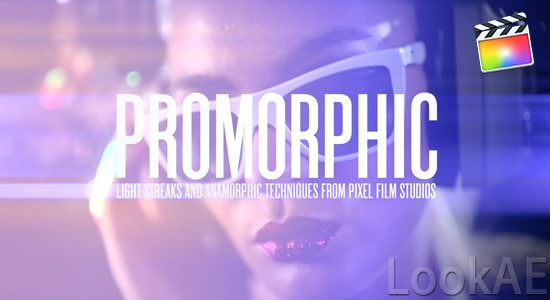 FCPX插件:变形镜头耀斑光晕特效 ProMorphic