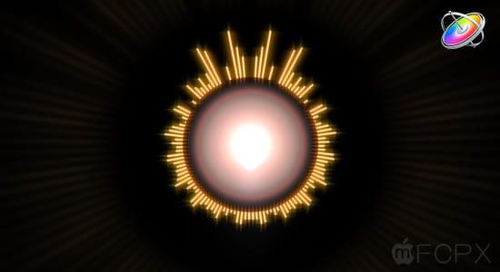Apple Motion 5 教程:圆形音乐频谱视觉特效动画制作 Circular Music Visualizer Tutorial