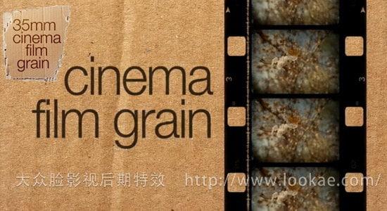 FCPX插件:35mm电影胶片颗粒 FCPeffects - Cinema Film Grain