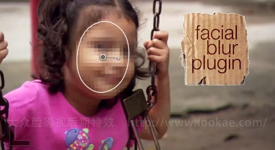 FCPX插件:面部马赛克模糊插件 FCPeffects - Facial Blur
