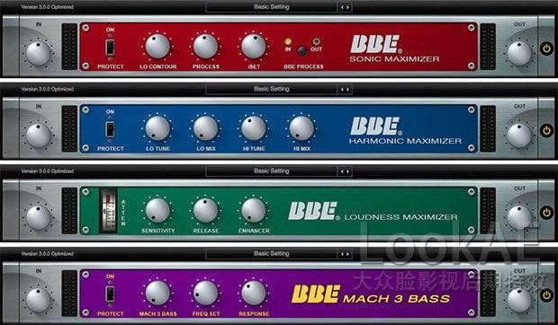 FCPX音频插件 : 经典人声激励器 BBE Sound Sonic Sweet Optimized v3.2.1