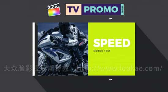 FCPX插件-现代时尚电视节目包装动画 Tv Promo Theme+使用教程 FCPX 插件-第1张