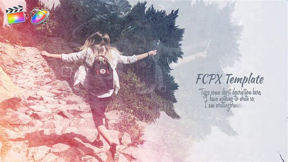 FCPX模板-中国风复古水墨晕开遮罩图文展示开场 Ink Slideshow FCPX 插件-第1张