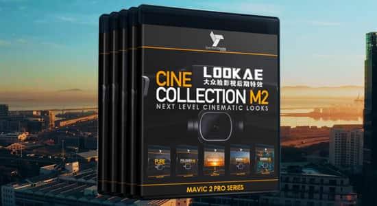 无人机大疆航拍摄像机御Dji Mavic视频调色LUTs预设 SpectrumGrades – Cine Collection M2 Luts Presets FCPX 插件-第1张
