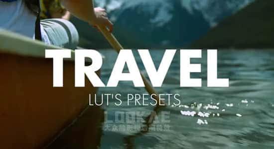 10组户外旅行专用LUTS调色预设 Travel LUTS (FCPX/PR/PS/AE/达芬奇/OFX) FCPX插件-第1张