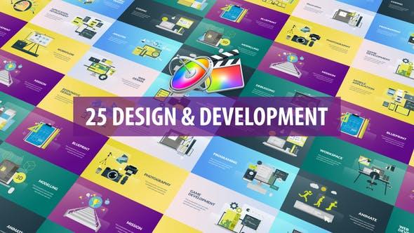 FCPX插件-25�N�W�j�O��_�l�想跟本座�邮洲k公�鼍�祟}介�B�赢� Design and Development Animation FCPX插件-第1��