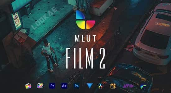 30种精美大气电影风格LUTS调色预设 mLUT Film 2 FCPX插件-第1张