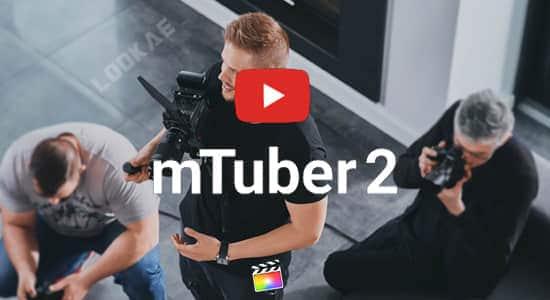 FCPX插件-61个视频网络社交媒体宣传图文包装动画 mTuber 2 + 使用教程 FCPX插件-第1张