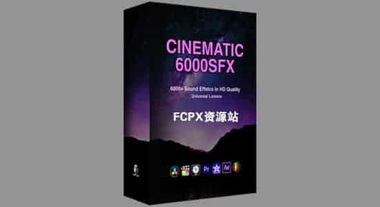 6000个终极多类型常用电影高品质无损音效包 Cinematic SFX Ultimate Bundle Pack 音乐视频素材-第1张