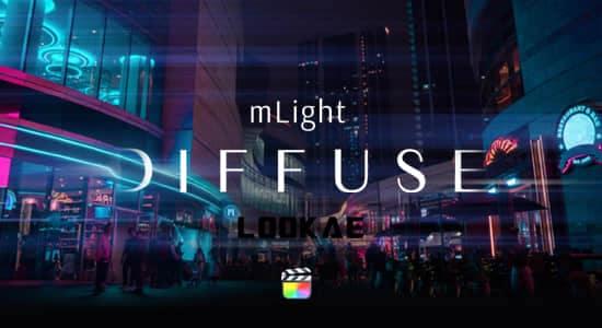 FCPX插件-6组电影镜头光效漫反射动态效果 mLight Diffuse FCPX插件-第1张