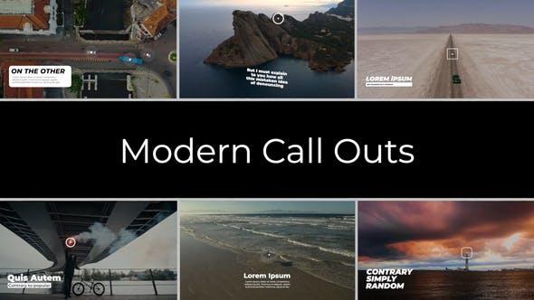 FCPX插件-现代定点标注文字标题展示介绍动画 Modern Call Outs FCPX插件-第1张