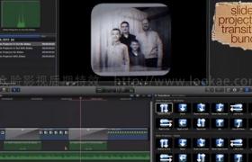 FCPX插件:24种复古怀旧摄像机拍摄转场 FCPeffects – Slide Projector Transition