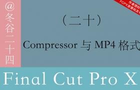 Final Cut Pro X 中文系列教程020:Compressor与MP4格式