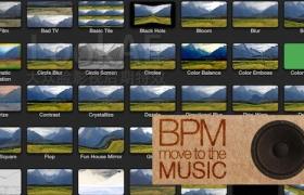 FCPX插件:音乐自动节拍视觉特效 FCPeffects – BPM v1.2