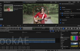 FCPX教程:高级调色讲解教程 Lynda – Final Cut Pro X Guru: Color Correction