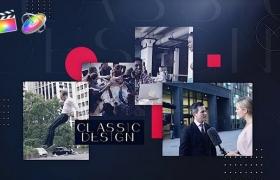 FCPX模板-现代流行图文展示介绍开场 Trendy Urban + 使用教程