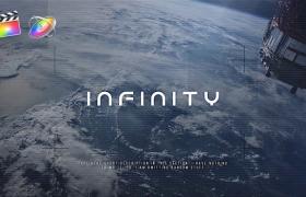 FCPX模板-科技感图文视频介绍展示片头 Infinity + 使用教程