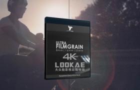 视频素材-57个电影胶片噪点颗粒叠加4K视频素材 Ultra Film Grain 8mm/16mm/35mm