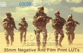 Win/Mac版:390组 LUTs 专业电影调色预设 VisionColor ImpulZ 35mm film emulation LUTs 1.1+使用教程