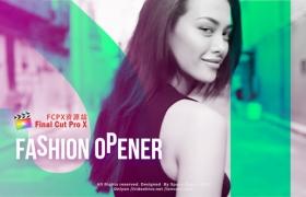 FCPX模板+Apple Motion模板:现代时尚图文动画包装展示片头Fashion Opener