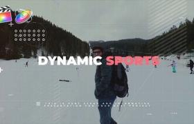 FCPX模板-动感科技风极限运动图文包装介绍 Dynamic Sports + 使用教程