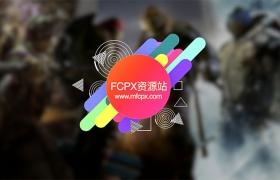 FCPX插件:41种社交LOGO标题文字介绍动画 Youtube Channel Kit 2
