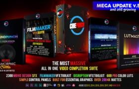 视频特效LUTs调色素材音效预设套装 CINEPUNCH Master Suite 5.0 Win/Mac