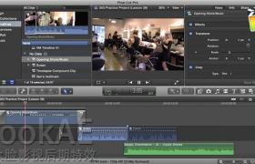 FCPX教程:数字音频音效制作编辑训练教程 Intro to Effective Digital Sound Design in Final Cut Pro X