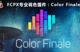 FCPX插件:专业分级调色插件 Color Finale 1.1.x.x beta 支持LUT