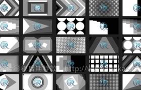 FCPX转场插件:40种多边形图形遮罩转场 第2季