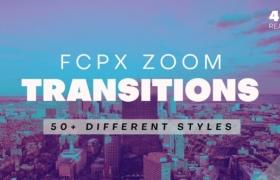 FCPX转场插件-50个干扰失真毛刺色散变焦缩放转场过渡V3(支持竖屏)+使用教程