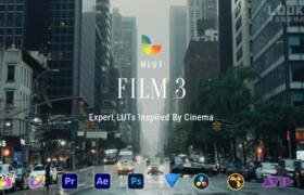 50个专业好莱坞电影分级LUTS调色预设 mLUT Film 3