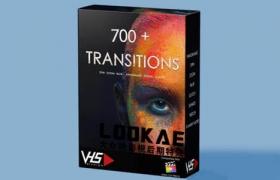 FCPX插件 700+扭曲旋转冲击图形切割抖动变形光效视频转场预设 VHS Studio