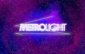 Apple Motion模板 – 80年代复古老效果动画片头Metrolight