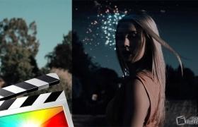 FCPX教程-视频画面白天变黑夜特效