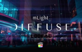 FCPX插件-6组电影镜头光效漫反射动态效果 mLight Diffuse