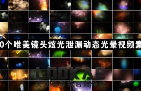 视频素材:100个唯美镜头炫光泄漏动态光晕视频素材